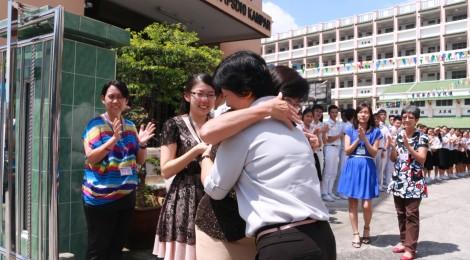 杨秀琼老师荣休     40年风雨路